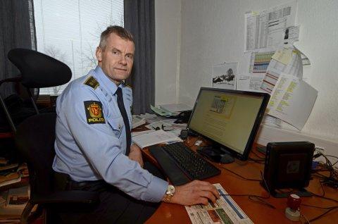 LENSMANN: Terje Krogstad, lensmann i Ringsaker blir enhetsleder for innlandets midterste geografiske region, Gudbrandsdalen og Hedmarken. Arkivfoto