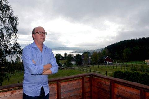 Nordbyen Gjøvik: Han er glad for 5,6 pst i egen krets, men ser at partiet urbaniseres.