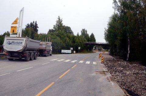 Anleggsprosjektet innebærer blant annet over 300 meter med ny anleggsveg.