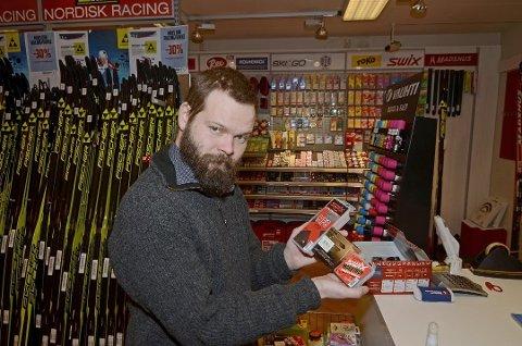 Faksimile fra april 2016 da Lars Giæver (MDG) tok opp saken om fluorider i skismurning som et problem i kommunestyret.