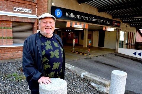 Å utvide Sentrum P-hus er en bra løsning for å ta unna trafikken fra øvre deler av Lillehammer, mener styreleder Per A. Mæhlum i Sentrum Parkering as.