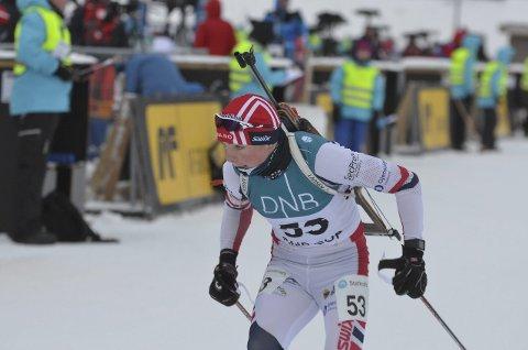 OVERRASKET: Anders Sønsteby Flaagen fra SÅS var den av de lokale utøverne som overrasket mest ut fra egne forutsetninger i norgescupåpningen på Beitostølen.