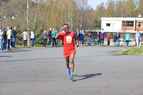 REKORD: Michael Tesfamichael er blant favorittene til å vinne Viggaløpet.