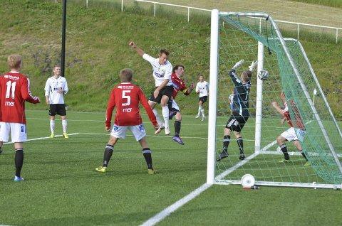 SCORET: Jo Vetle Rimstad ga Gran ledelsen i 1. omgang, men Nordre Land kom tilbake etter pause og sikret seg seieren med en sen scoring.