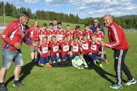 KLARE: Guttelaget til Brandbu vant serien i fjor og trenerne Svein Bækken (til høyre) og Dag Robert Larsson må løpe Viggaløpet.