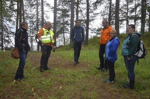 NY leir: Norsk Folkehjelp Hadeland lager planer for den nye leiren på Utøya.