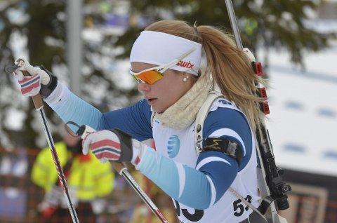 VANT LØRDAG: Hanne Tingelstad gikk til topps på normaldistansen.