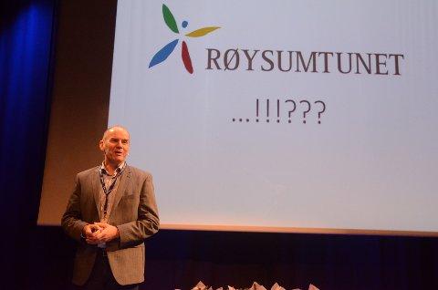 Erik Nordengen fortalte om Røysumtunets suksesshistorie.