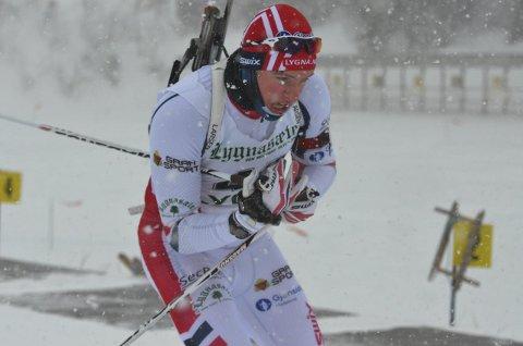 BESTE NOENSINNE: Sindre Schonhowd fra SÅS ble nummer 14 på sprinten i junior-NM, og dette er lunbyingens beste resultat noensinne.