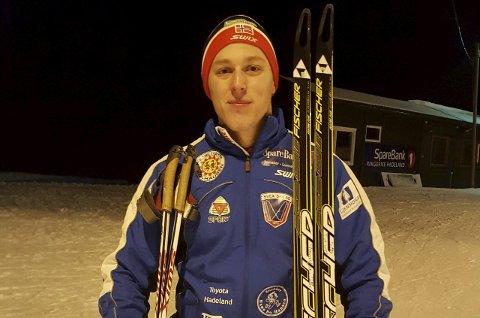 STILLER: Stig Thormodsen fra Svea er eneste senior i KM.