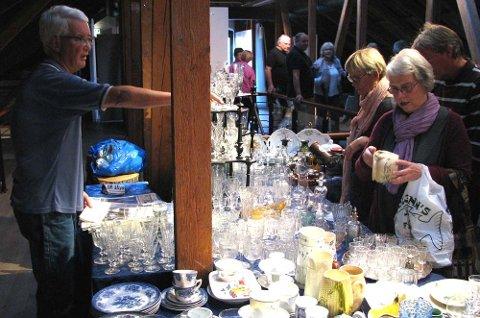 2. etg i Galleriet på Hadeland Glassverk