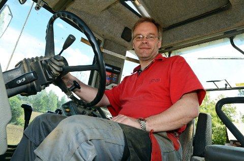 NY SJEF?: Einar Teslo har fått tilbud om å bli ny landbrukssjef for Hadeland. Han er i dag spesialkonsulent jord ved det lokale landbrukskontoret.