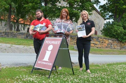 INFORMASJON: Det er å få turistinformasjon på norsk, engelsk og tysk ved turistinformasjonen på Granavollen.