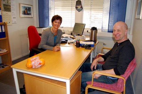 SMIETORGET: Kari Morka og Tore Solberg i 2009.