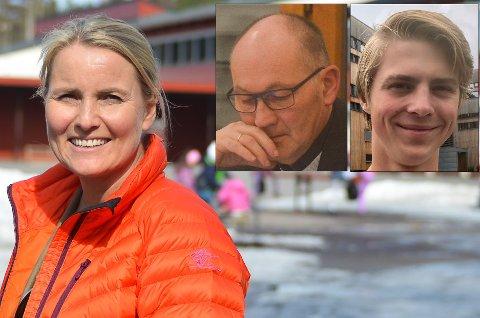 TOPP TRE: Line Jorung er Lunner Høyres ordførerkandidat. Kai Roar Dahl og Ole Gustav Morstad står på de neste to plassene.
