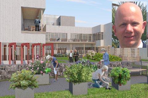 ANSATT: Kjetil Lindø er ansatt som prosjektmedarbeider/implementerings- koordinator i Lunner kommune.