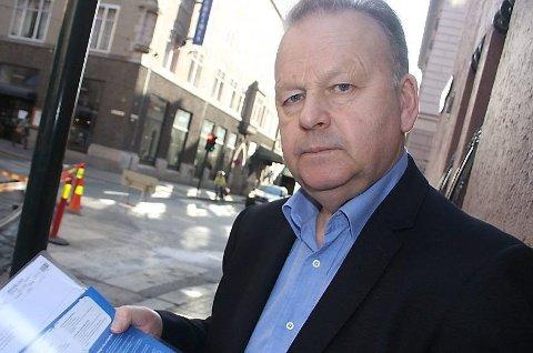 Privatetterforsker og tidligere polititopp Finn Abrahamsen. (Arkivfoto)
