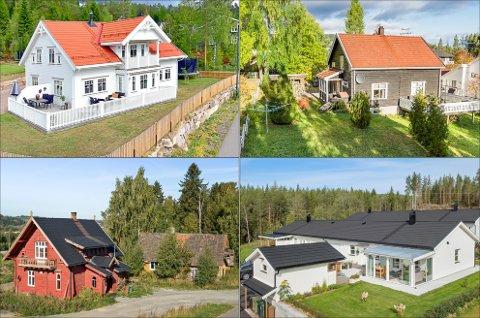 Dette er noen av husene som ble solgt på Hdeland i desember.