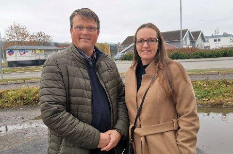 Lederskifte: Øyvind Haslestad tar over jobben som leder ved Gran frivilligsentral etter Hilde G. Tangen.