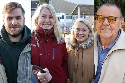 Anders Støen Aasli (22), Nina Hansen (24), Iselin Hermansen (24) og Ansgard Wien (89).