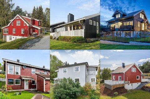 Dette er noen av husene som ble solgt i november.