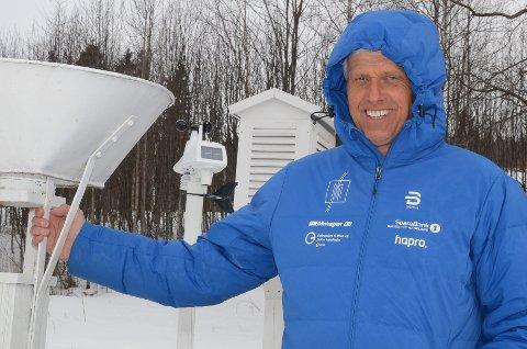 Rapporterer på været: Dag Anmarkrud. (Arkivfoto)