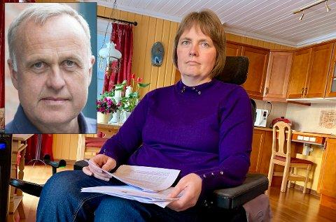 STILLER SPØRSMÅL: Lars Erik Flatø (Ap) har stilt ordføreren tre spørsmål om rettigheter for funksjonshemmede i Gran kommune med bakgrunn i saken til MS-syke Kjersti Løvhaug fra Gran.