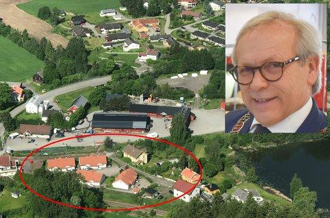 SVARER PÅ KRITIKKEN: – Jeg kan ikke løfte alle enkeltsaker til saksbehandling i kommunestyret, sier ordfører Willy Westhagen.
