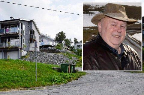 MEDHOLD: Martin Greftegreff ble saksøkt etter murarbeider i Dalsbråten, men han fikk medhold i Ringerike tingrett.