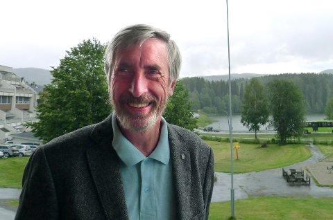 FOR SP: Harald Antonsen er mest fornøyd med at Jevnaker fortsatt er egen kommune.