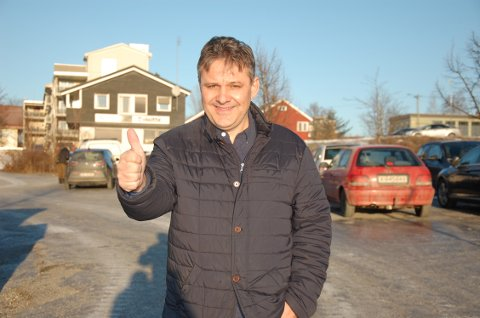 TRÅTT SALG TIL TROSS Arild Gulbrandsen er fortsatt optimist på vegne av Gran Park.
