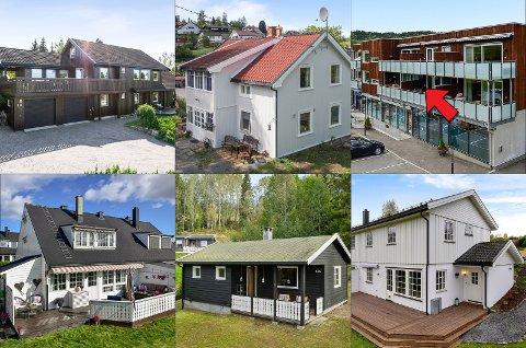 Dette er noen av eiendommene som ble solgt i desember i fjor.