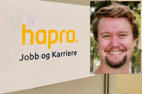 AVVENTENDE: Jo-Terje S. Høyesveen er hovedtillitsvalgt i Hapro jobb og karriere. Han er avventende og spent på vegen videre etter at bedriften har tapt flere anbud.