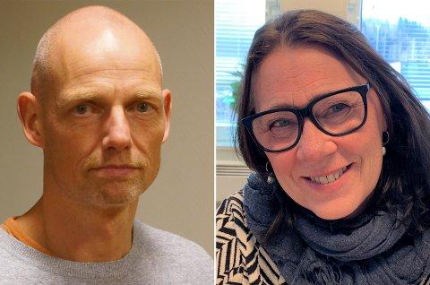 Kjenner problemstillingen: Kommuneoverlege Bjarne Oure og kommunalsjef oppvekst, May Birgit Kjeverud.