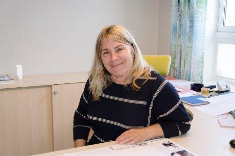 VELKOMMEN: Ordfører i Ringerike Kirsten Orebråten lover å ta godt imot Bård Brørby og de andre Jevnaker-politikerne i Regionrådssamarbeidet.