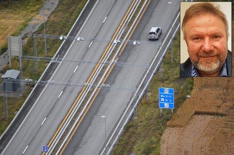 Vil ha timesrabatt: Bengt Fasteraune (Sp) vil ha timesrabatt på nye riksveg 4.