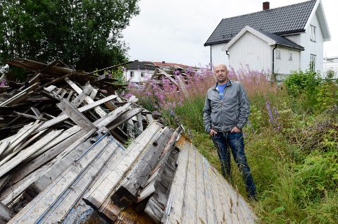 AVSLAG: Jeton Ramosaj fikk politisk avslag, selv om rådmannen var positiv til byggeplanene hans i Bjerkegata 4.