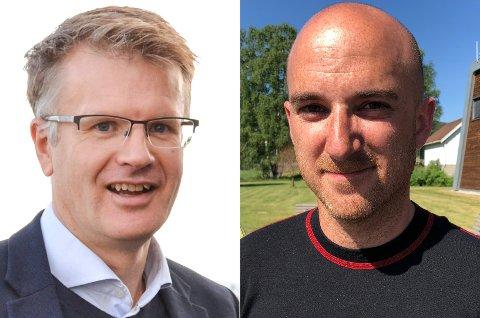 Natt-priser: Tore Morten Wetterhus i Glitre energi nett setter ned prisen på nettleien på nattestid. Brannsjef Sturla Bråten har tidligere uttrykt skepsis mot slik ordning.