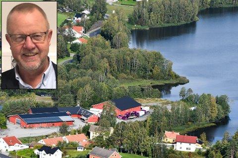 Sagatangen: Geir Haugan er prosjektleder for det nye sykehjemmet på Sagatangen.