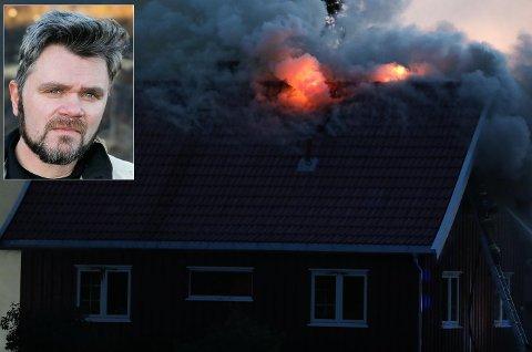 Innsatsleder brann, Per Ansgar Østby.