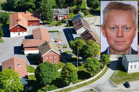 Krevende økonomi: Styreleder Pål Wien Espen i Stiftelsen Glasslåven Granavollen.