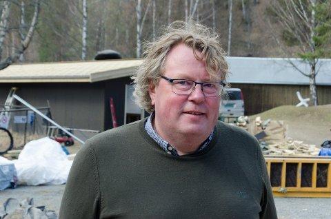 GLEDER SEG: Olav Lie Nilsen forsikrer at alt skal være klart til Kistefos åpner for sesongen den 23. mai.