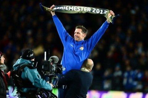 SERIEMESTER: Tidligere toppkeeper og seriemester i fotball med Strømsgodset i 2013, Thomas Ødegaard, jobber nå i Jevnaker-selskapet Unisport.