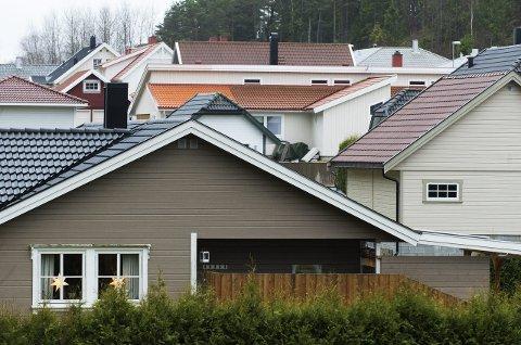 GODT ÅR:Boligprisene i Halden øker mer enn landsgjennomsnittet. Illustrasjonsfoto