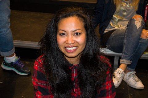 Karen Bernardino har kommet som innbytter for May-Kristin Kaspersen på årets sommershow.