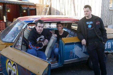 PÅ TV: Martin Bakken (fra venstre),  Martha Myrdal Andersen og Mats Henrik Ouren kommer på TV2 Zebra og på TV2 Sumo.