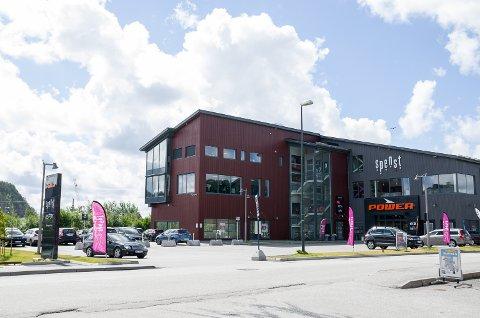 UTVIDER: Etter at Spenst flyttet til Høvleriet, har det gått så bra at de i september åpner nytt treningssenter.