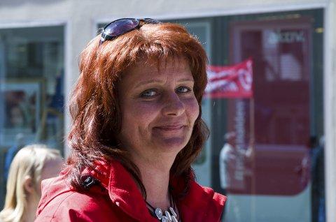 Sterk og uredd: Kirsti Brække Myrli vil bli husket som en sterk, uredd og prinsippfast fagforeningsleder og politiker i Halden-samfunnet. Arkivfoto: HA