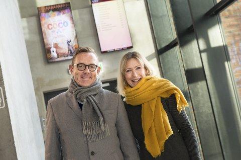 BYTTE: Tor Rullestad gir seg som kinostyreleder. Hanne Sundby har fra i dag tatt over.