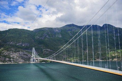 UP hadde i juni 2017 ein stasjonær trafikkontroll langs rv. 7 i Eidfjord. Ein bil kom då køyrande i retning Hardangerbrua, og såg ut til å ha stor fart.